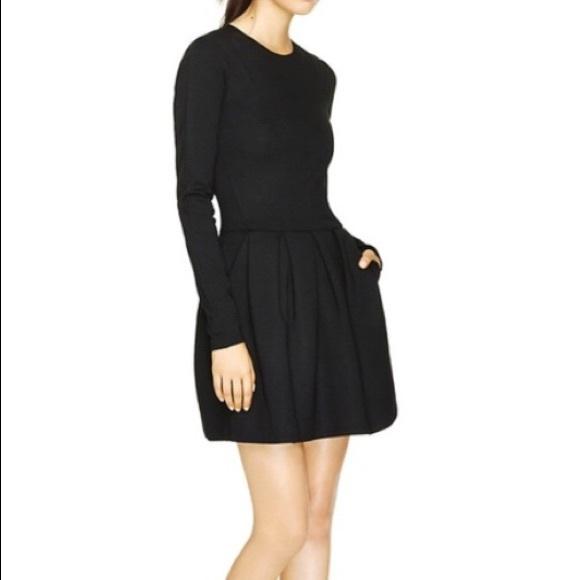 Wilfred tartine dress sz 4 in black